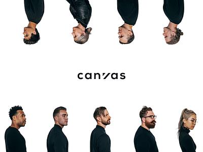Canvas Photo Style branding studio team layout photography design