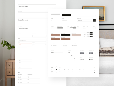 Interactive Style Guide mcgee brand layout interactive ecommerce ux ui style guide design system website design
