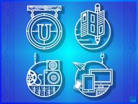 Stylized Ui Icons