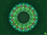 Christmas wreaths dribbble1