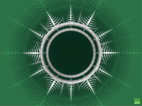 Icicle Christmas Wreath