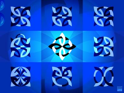 Abstract Knot Logos