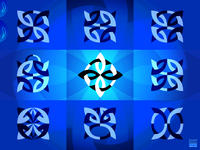 Abstract Knot Logos