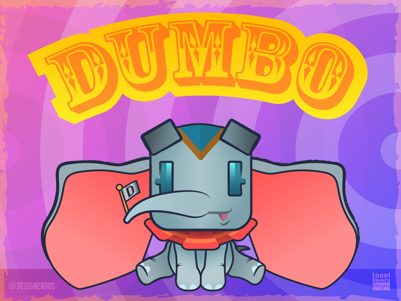 Dumbo - Costume #2 designeroos figuros disneyworld disneyland elephants elephant cartoons cartoon disney movie disney film disney dumbo