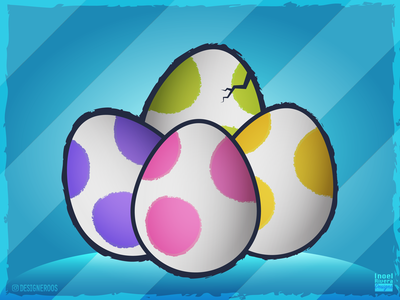 Yoshi's Crafted World - Yoshi Eggs