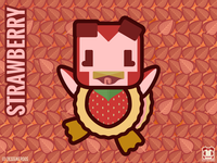 Hola Strawberry pangwich!