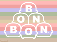 Bonbons Characters Logo
