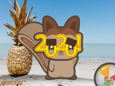 Cinnamon Squirroll New Years 2020