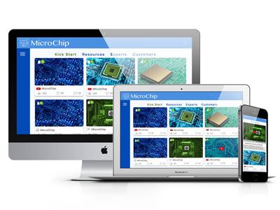 Microchip microchip dashboard b2b app minimum products ecommerce app design ux ui app