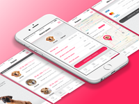 Wuff - iOS Interface Design