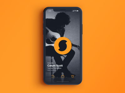 SoundHound Mobile App New UI Concept