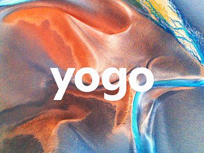 Yogo exploration design branding logo