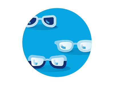 Glasses Illustration illustration glasses