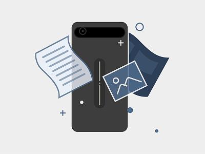 Illustration App business ui app illustration