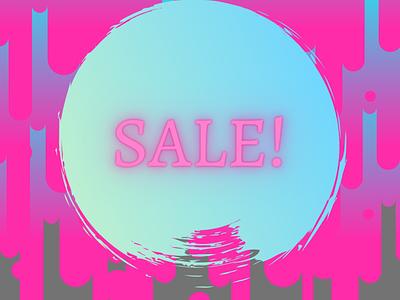 Copy of SALE typography instagram vector design branding