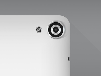 Nexus 9 Camera Details nexus 9 device mockup camera