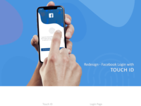 Redesign - Facebook Login with Touch ID