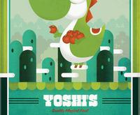 Just three quarters of a Yoshi...