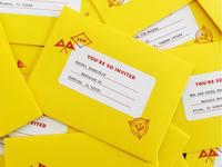 Wedding envelopes!