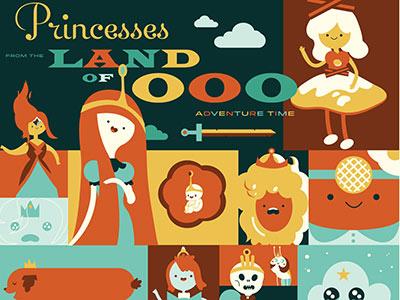 Adventure Time Princesses!