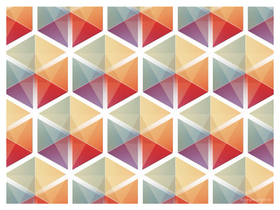 Color Cubes Pattern by Sergey Grigoruk Dribbble