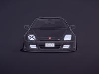 Honda Prelude 5 Illustration