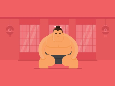 Sumo player