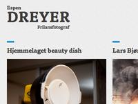 Redesign of espendreyer.com
