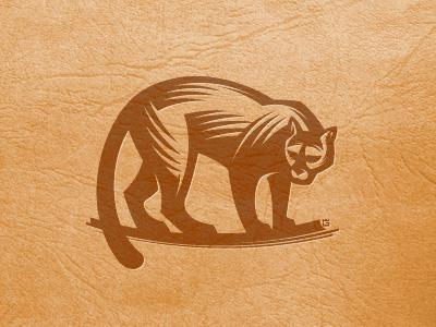 Puma logo logo illustration vector animal cat cougar screen mascot puma printing letterpress label mark