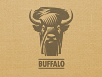 Logo U.S. Forest buffalo bison (WIP)