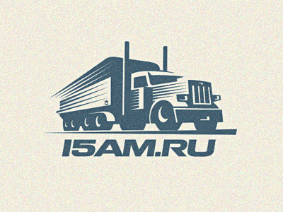 Logo Cargo Truck letterpress letterpress transceiver website logo illustration vector truck road cargo transportation. t-shirt radio