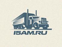 Logo Cargo Truck letterpress