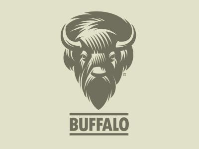Logo of American steppe bison Buffalo (WIP)