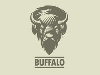 Logo of American steppe bison Buffalo (WIP)