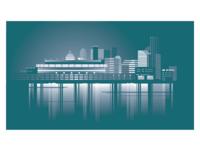 American Vector city Cincinnati