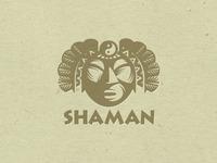 Logo Shaman Letterpess