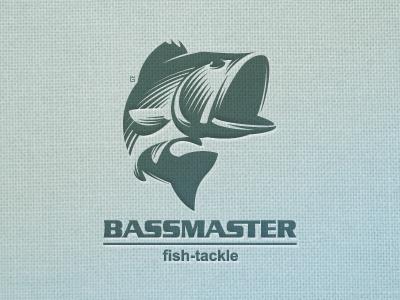 fish Bass marks logo illustration vector fishing tackle sports nature slave river
