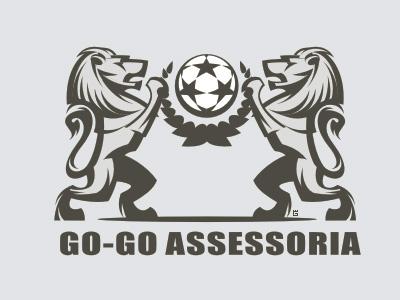 Logo Lion Football (WIP) heraldy marks logo football sports flag emblem ball animals lion