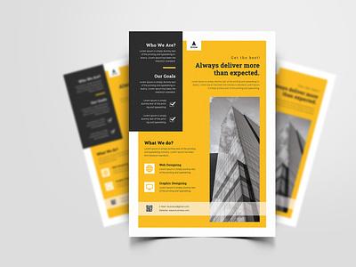 Corporate Business Flyer corporate branding corporate identity corporate design corporate flyer business flyers business flyer design