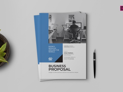 Proposal Template proposal word design proposal business proposal proposal template project proposal a4 template proposal profile multipurpose minimal infographic guidelines creative corporate company business brochure report annual