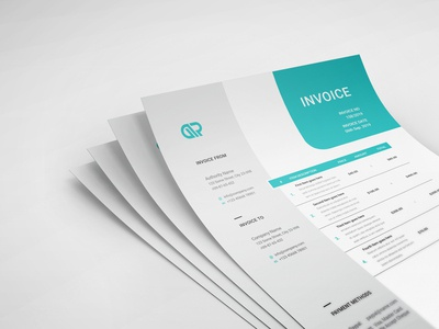 Creative Invoice Template 05