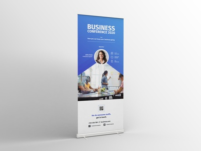 Conference Roll-up Banner conference roll-up conference banner conference banner conference roll-up banner banner rollup symposium summit seminar minimalist marketing forum event corporate conference company business advertising advert