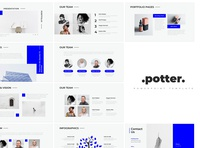 Potter Minimal PowerPoint Template