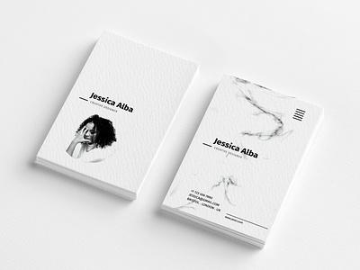 Creative Business Card minimal floral vintage feminine