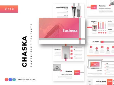 Chaska Business Powerpoint Template presentation minimal deck pitch minimalist keynote powerpoint investor infographics entrepreneur enterprise creative corporate business agency