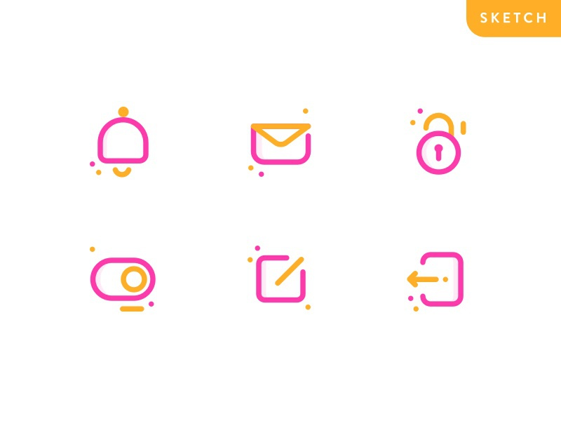 App Icon Freebie logo line free ios ux ui colorful freebie icon app