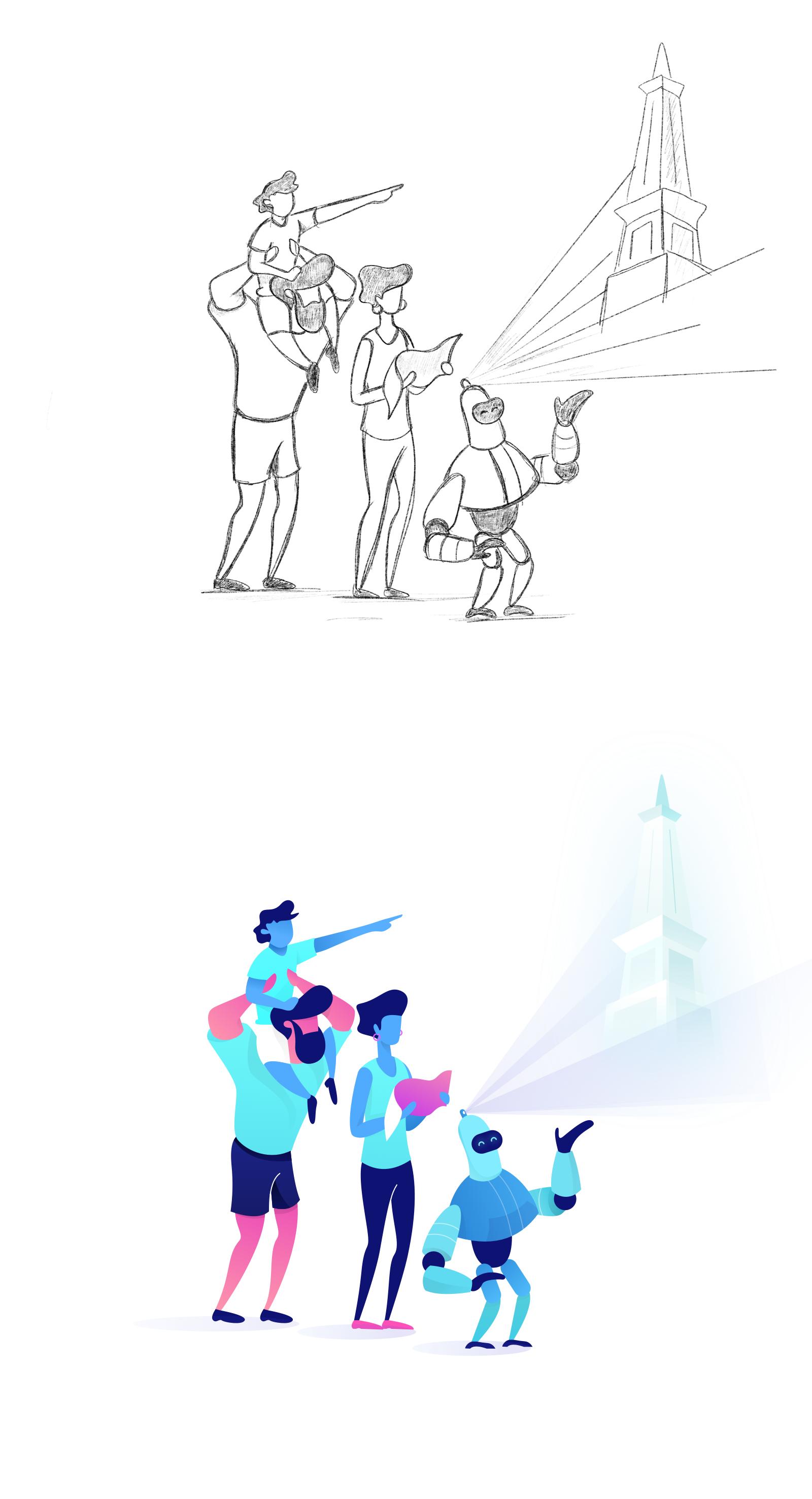 Plazir hero sketch 2x