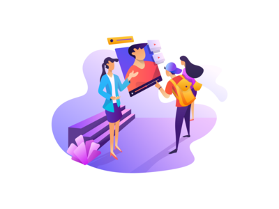 CampusReel Illustration for Onboarding