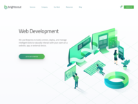 Web Development Hero Illustration