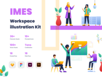 IMES Workspace 2D Illustration Kit